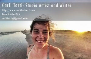 Carli Torti Freelance Studio Artist, Website Content Writer