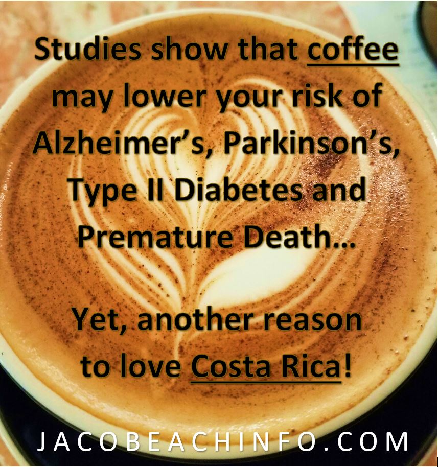 costa rica coffee jaco beach info