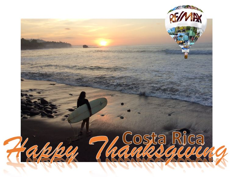 Jaco Costa Rica Thanksgiving